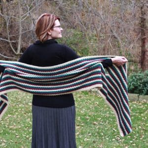 Super Scarf Arm Candy Wrap free crochet pattern