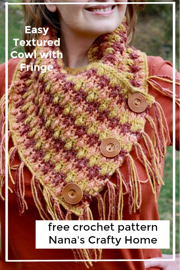 Falling Leaves Cowl free crochet pattern