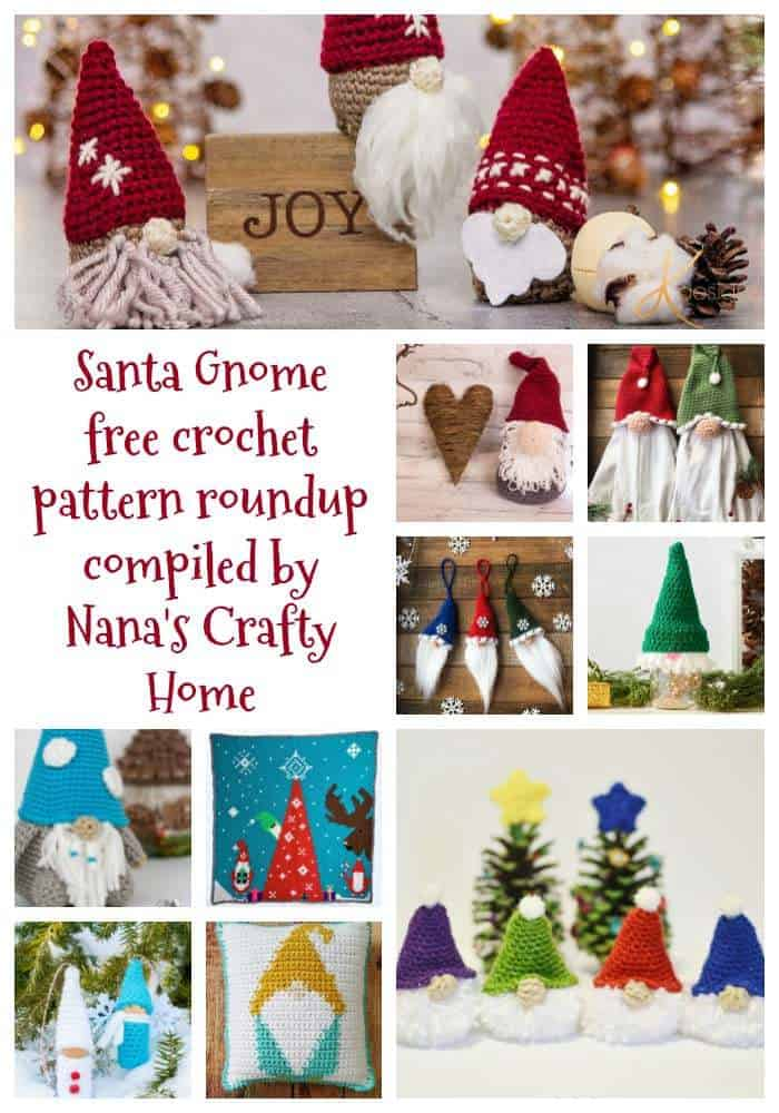 gnome crochet pattern roundup