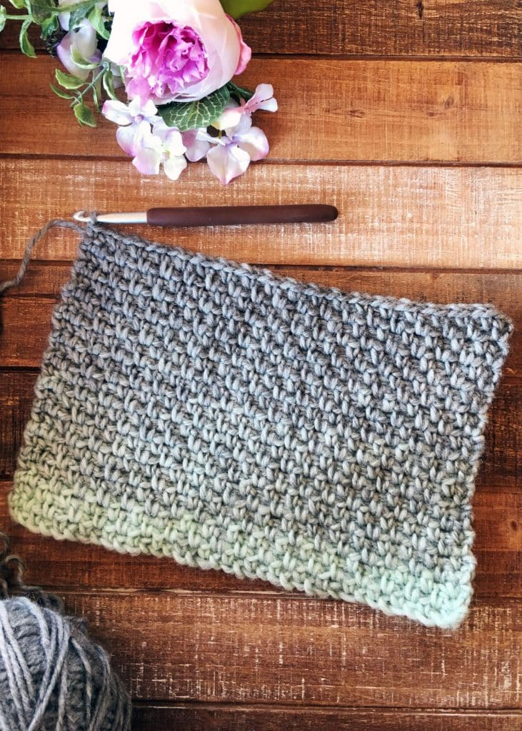 How to crochet Moss Linen Granite Woven Crochet Stitch Tutorial