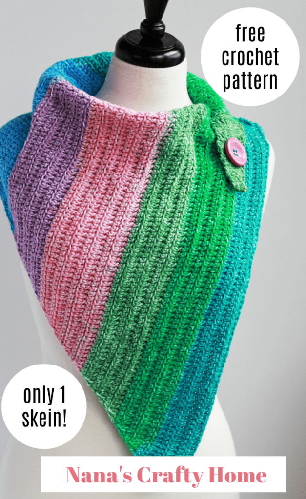 Easy Breezy Day Cowl free crochet pattern