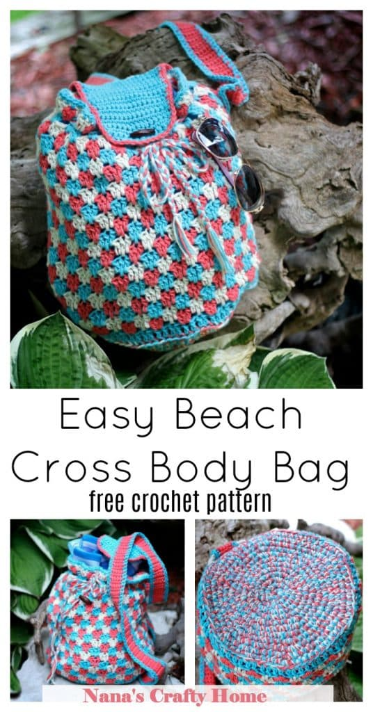 Crochet Crossbody Bag free crochet pattern