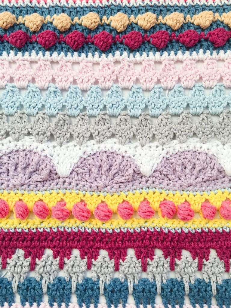 Spring Rhapsody Blanket Part 2 close up