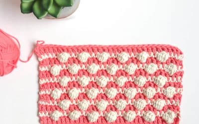 Blackberry Salad Crochet Stitch Photo & Video Tutorial