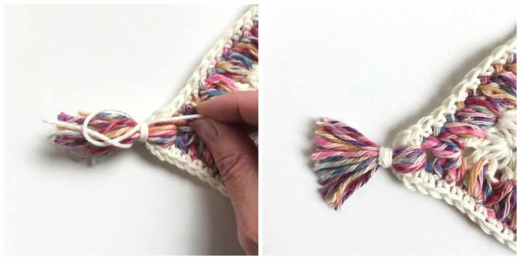 How to make a tassel part 3