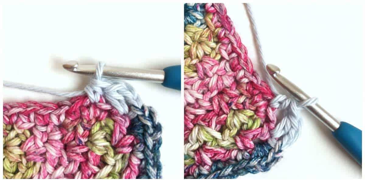 Puff Edge Border Crochet Stitch Begin