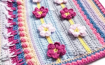 Spring Rhapsody Blanket CAL Part 4 Free Crochet Pattern