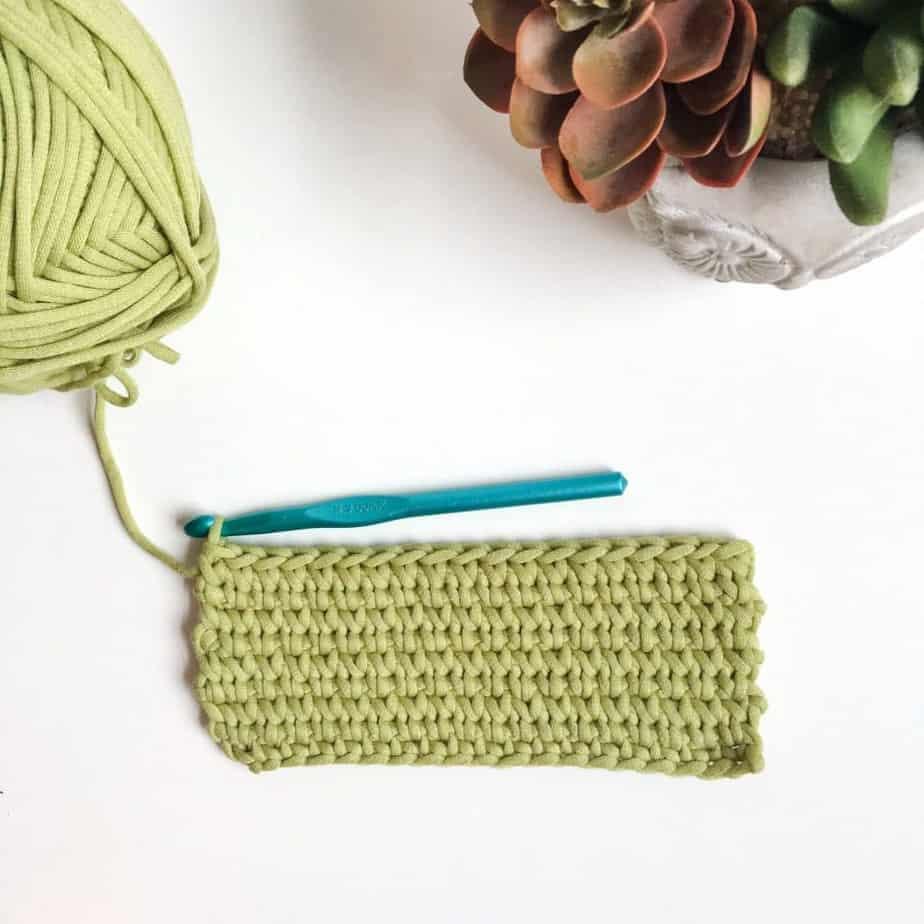 Waistcoat Crochet Knit Stitch flat lay