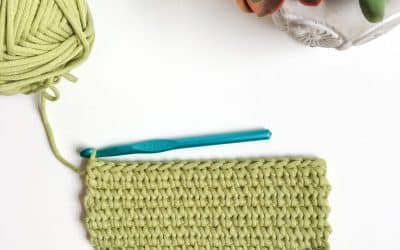 "How to crochet the ""Knit"" Waistcoat or Center Single Crochet (csc) Stitch Tutorial"