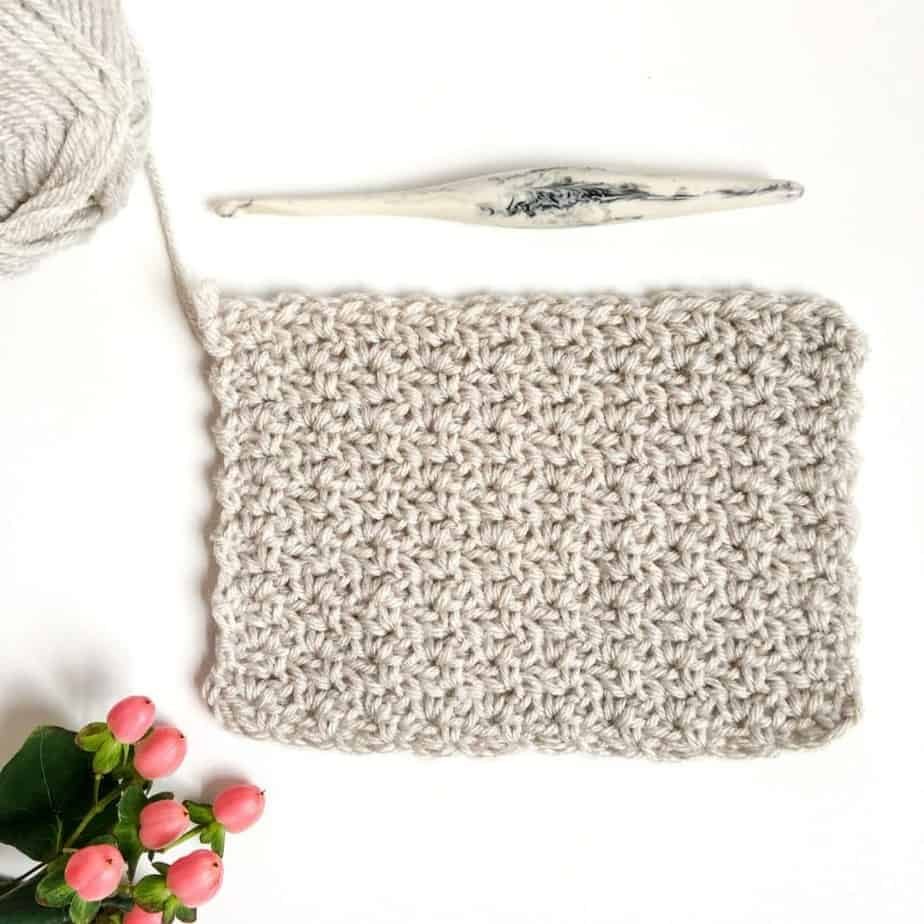 Wattle Crochet Stitch Photo & Video Tutorial Complete