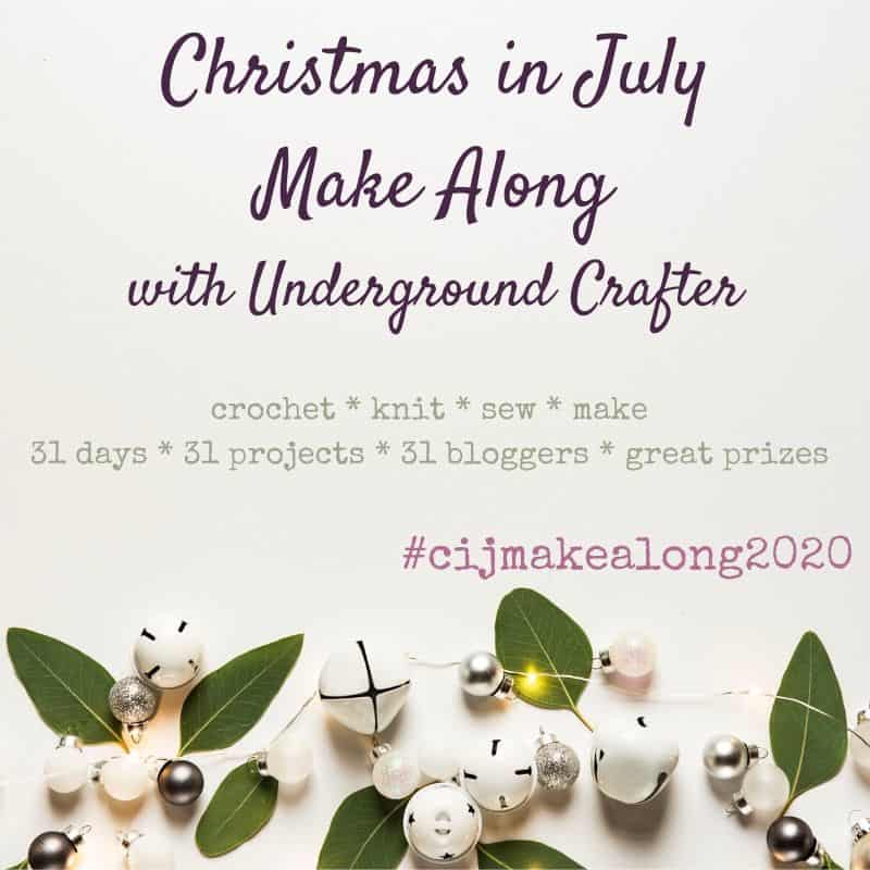 Christmas in July Make a Long with Underground Crafter