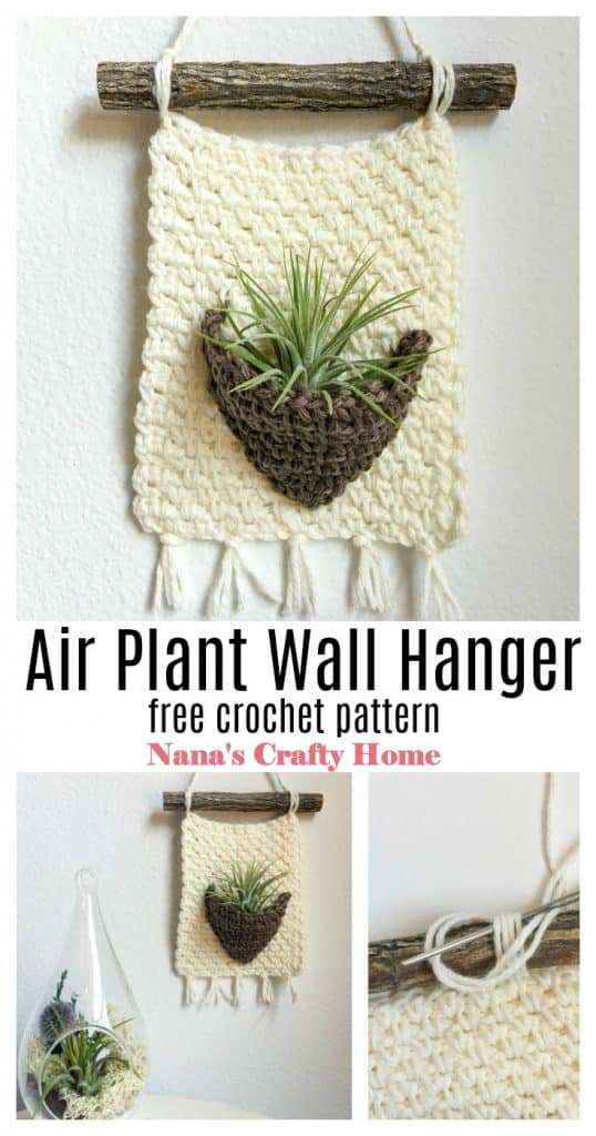 Air Plant Hanger Pinterest Collage