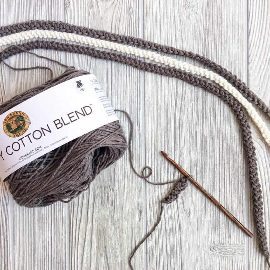 How to crochet Romanian cord tutorial