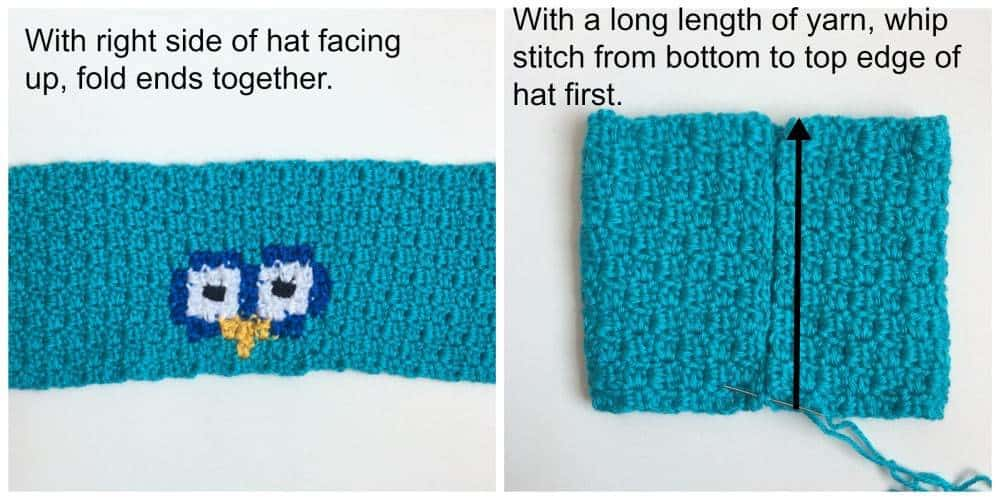 Owl C2C Sack Hat process
