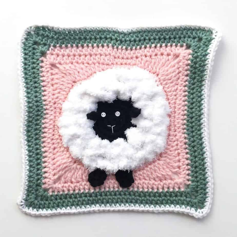 Sheep Granny Square