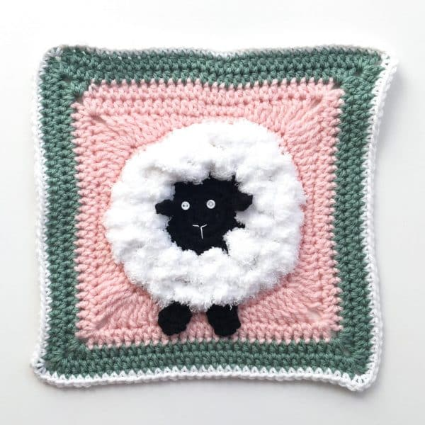 Sheep Granny Square