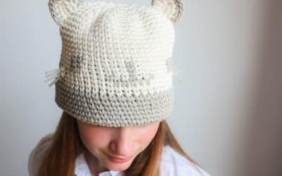 Kitty Cat Crochet Hat Free Crochet Pattern