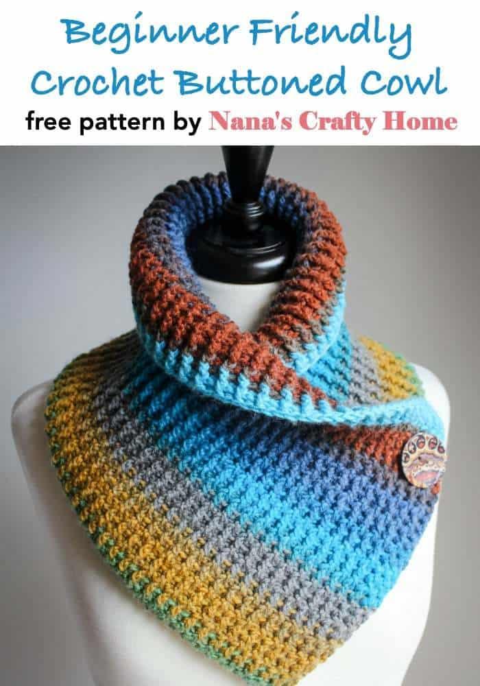 Crochet Cowl free crochet pattern