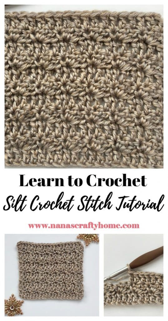 Learn how to crochet Silt Stitch