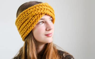 Highland Twist Headband Free Crochet Video Tutorial