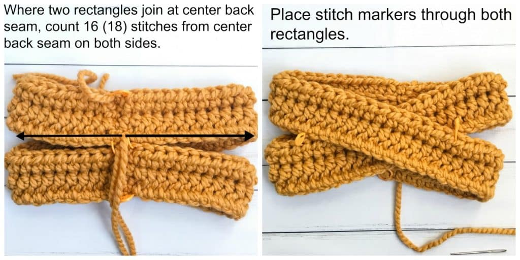 Highland Twist Headband free crochet pattern process 3