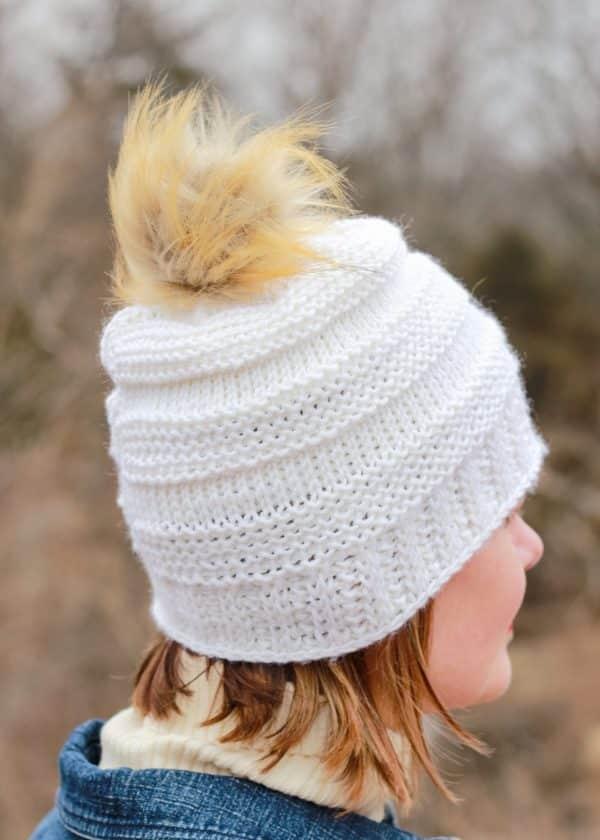 Tunisian Crochet Hat free pattern