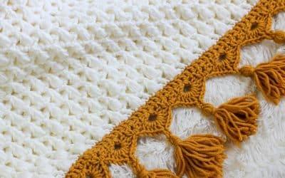 Ties that Bind Bulky Crochet Blanket Complete Video Tutorial