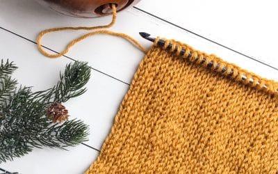 Tunisian Crochet Knit Stitch Photo & Video Tutorial