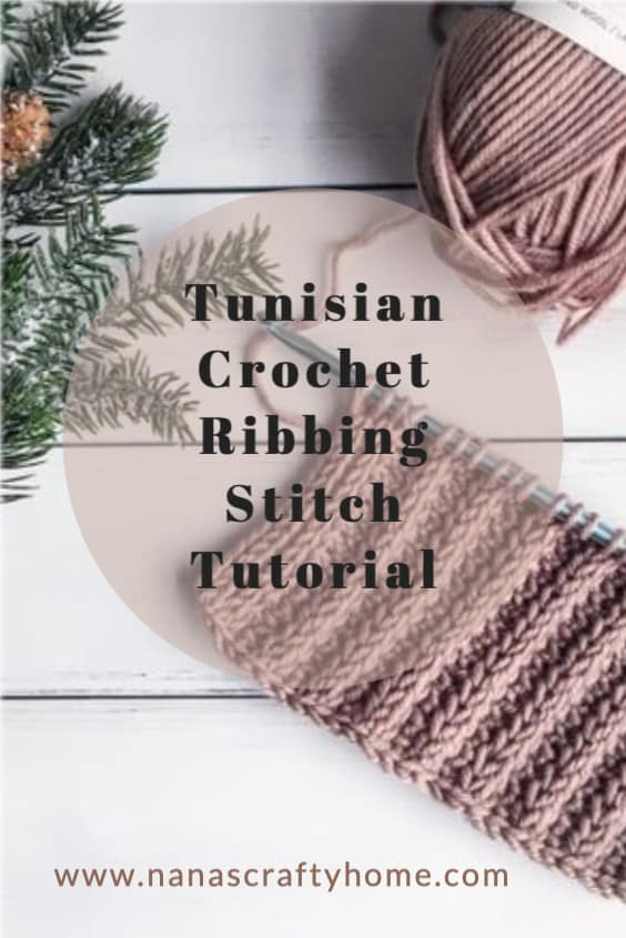 Tunisian Crochet Ribbing Tutorial