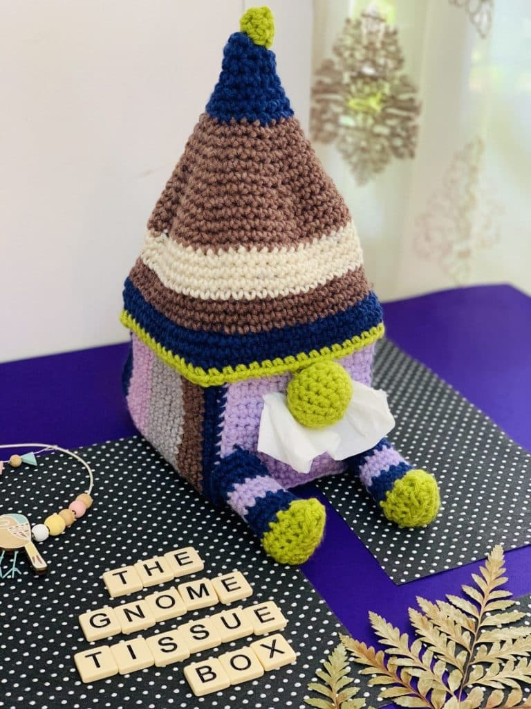 Gnome Tissue Box Cover by P. Rhea tester