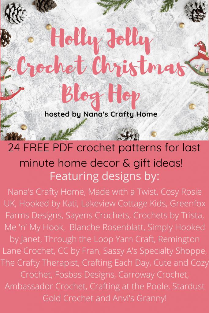 Holly Jolly Crochet Christmas Blog Hop
