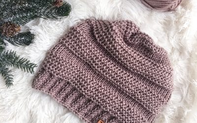 Tunisian Crochet Hat Free Pattern Looks Knit!