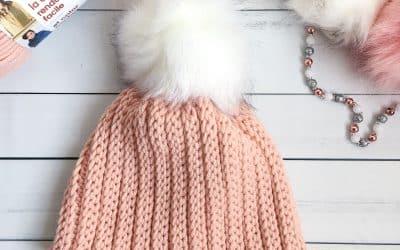 Easy Crochet Bulky Hat that Looks Knit free crochet pattern!