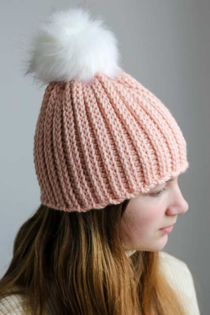 Winter Park Crochet Knit Look Hat free pattern