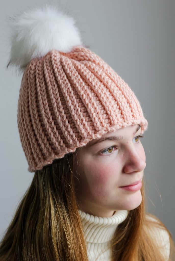 Winter Park Crochet Knit Look Hat free pattern