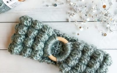 Crochet Bobble Headband free crochet pattern