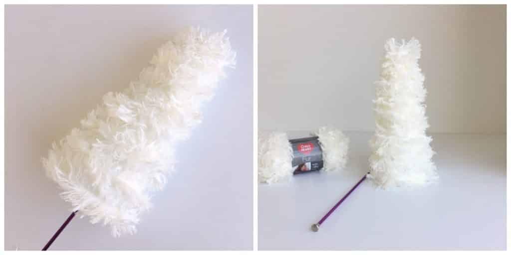 Fur Tree Yarn Craft Tutorial