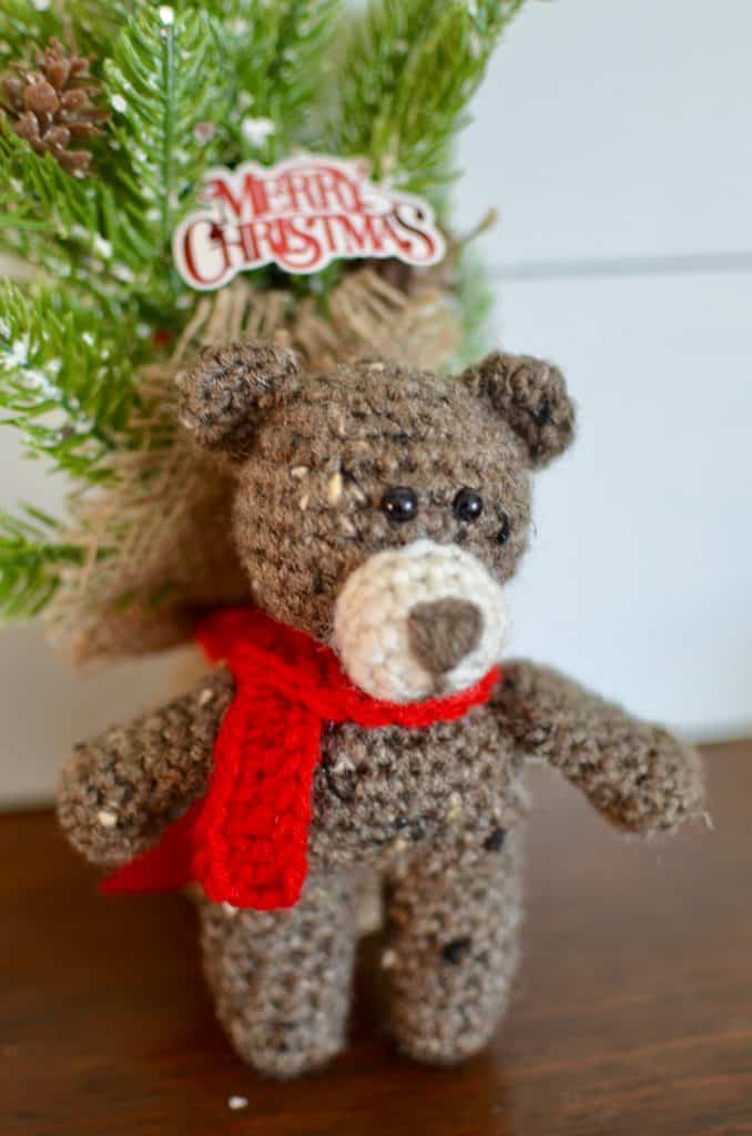 Bart the Bear by Cute and Cozy Crochet