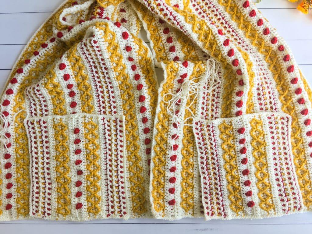 Pocket Shawl free crochet pattern part 3