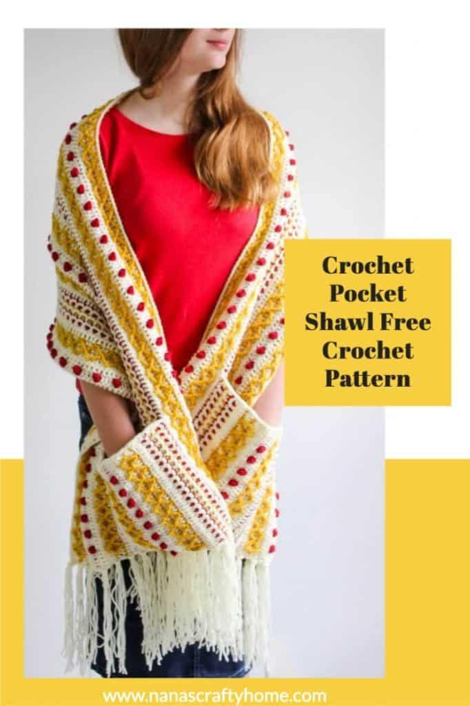 Marjorie Pocket Shawl CAL Part 1 free crochet pattern