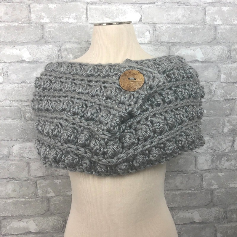 Snowbound Cowl by Made With a Twist
