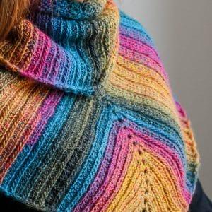 Uptown Brioche Scarf crochet pattern