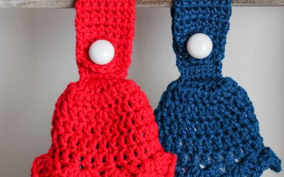 Tasseled Towel Topper Free Crochet Pattern Complete Video Tutorial