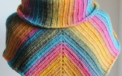 Uptown Infinity  Crochet Scarf Pattern