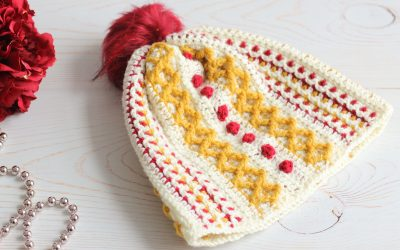 Textured Crochet Hat free pattern