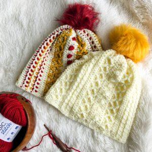 Textured Crochet Hat Marjorie Hat free crochet pattern