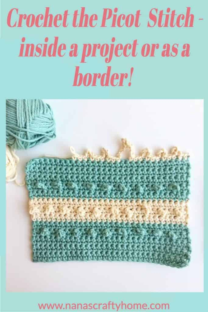 How to crochet Picot stitch tutorial