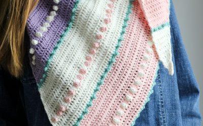Asymmetrical Crochet Scarf free crochet pattern