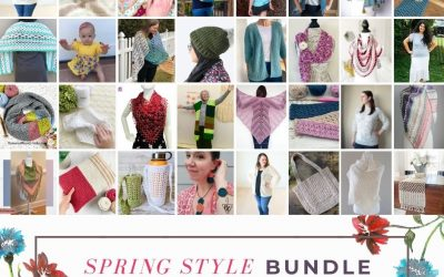 Spring Style Crochet Pattern Bundle Sale!