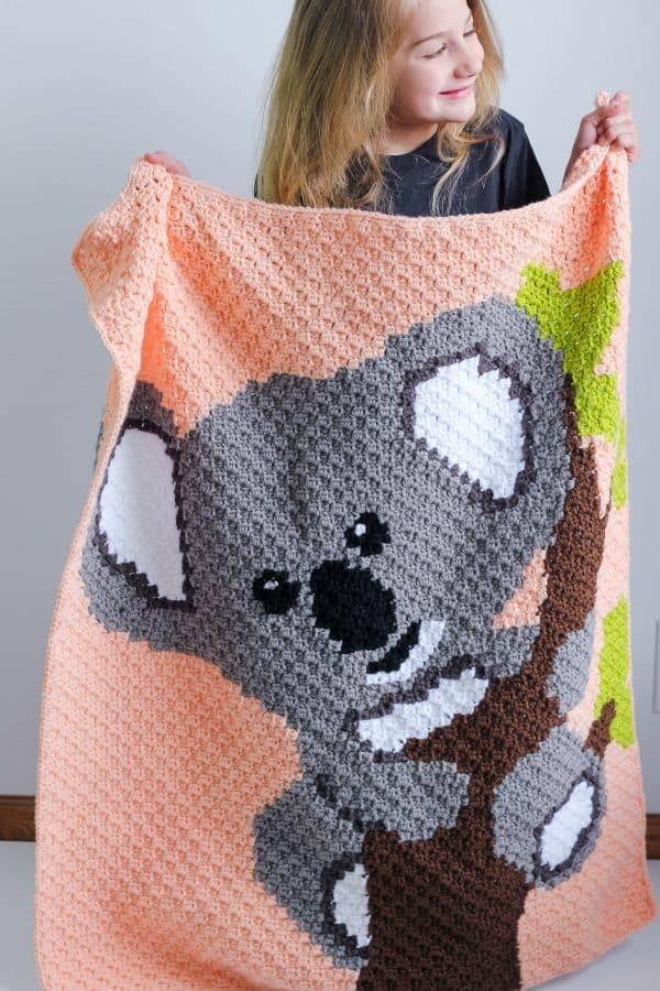 Koala C2C Blanket pattern